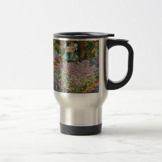 Iris dans le jardin de Monet Mugs À Café