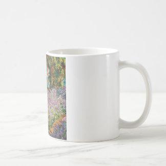 Iris dans le jardin de Monet Tasses