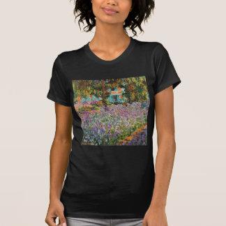 Iris dans le jardin de Monet T-shirt