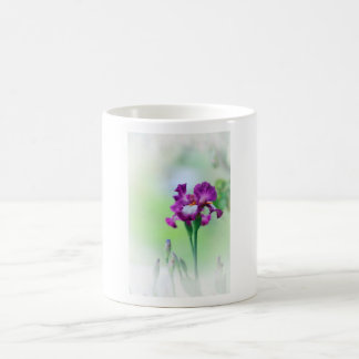 Iris dans le jardin mugs