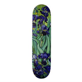 Iris de pourpre de PixDezines Van Gogh Skateboard 19,7 Cm