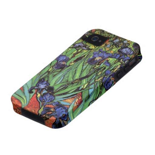 Iris de Van Gogh, art vintage de post iPhone 4/4S Case