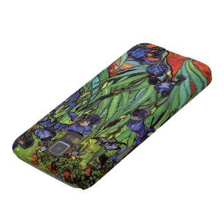 Iris de Van Gogh, art vintage de post Protections Galaxy S5