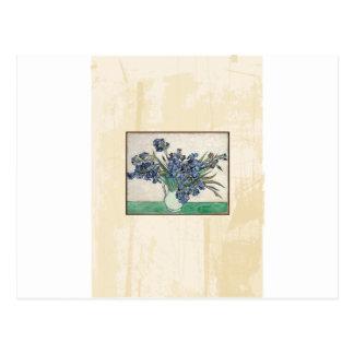 Iris de Van Gogh de beaux-arts Cartes Postales