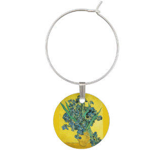 Iris de Van Gogh Marque-verres