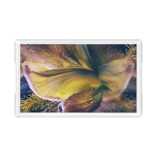 Iris Fantasy Acrylic Tray