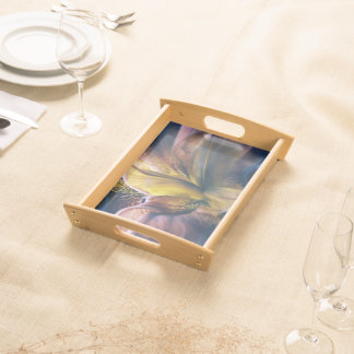 Iris Fantasy Serving Tray