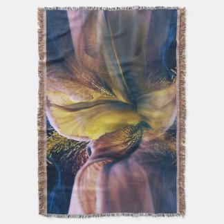Iris Fantasy Throw Blanket