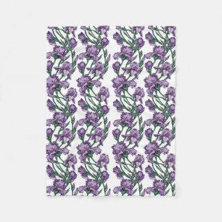 Iris Fleece Blanket