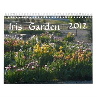 IRIS GARDEN 2012 CALENDAR