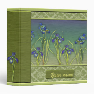 Iris Garden Binder