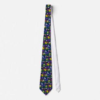 Iris Garden - Blue Tie