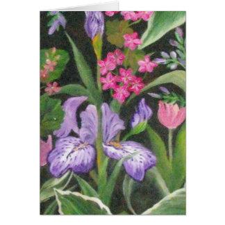 Iris Garden Card