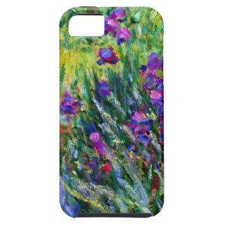 Iris Garden Impressionism iPhone 5 Cases