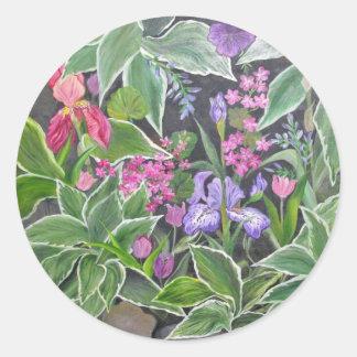 Iris Garden Sticker