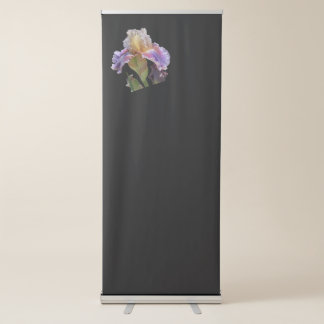 iris gladiolus in the garden retractable banner