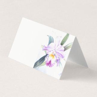 Iris Horizontal Tent Fold Folded Card