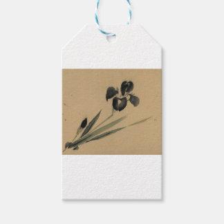 Iris Japanese Ukiyo-e Art Gift Tags