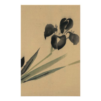 Iris Japanese Ukiyo-e Art Stationery