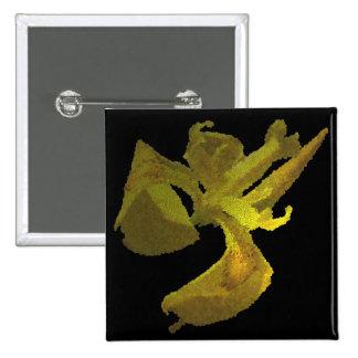 iris jaune image numérique pin's