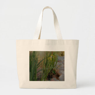 Iris jaune sacs en toile