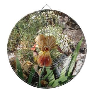 Iris jaune jeux de fléchettes