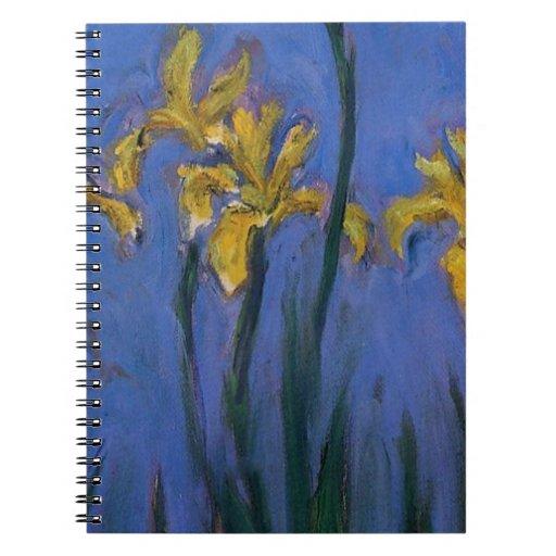 Iris jaunes carnets