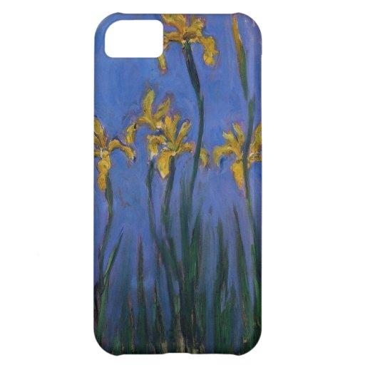 Iris jaunes coque iPhone 5C