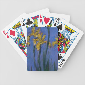 Iris jaunes jeux de 52 cartes