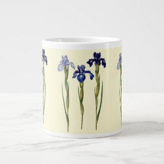 Iris Jumbo Mug 20 Oz Large Ceramic Coffee Mug