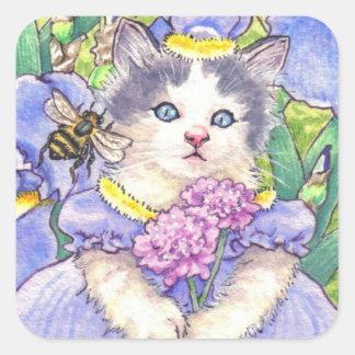 Iris Kitten stickers
