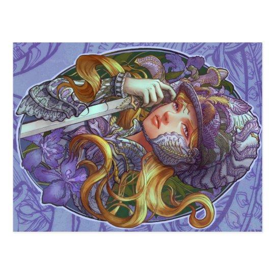 Iris Knight Postcard