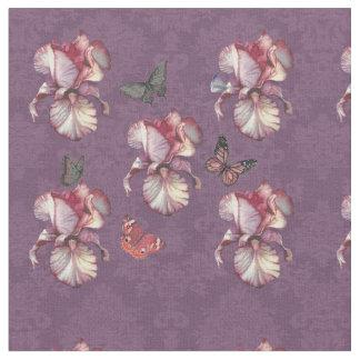 Iris Lace Butterfly Dance Fabric