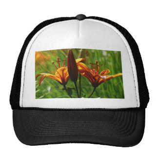 Iris, Lilly, Lily, DeepDream style Trucker Hat