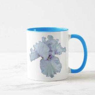 Iris Mug-Blue Handle Mug