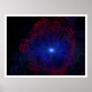 Iris Nebula Poster