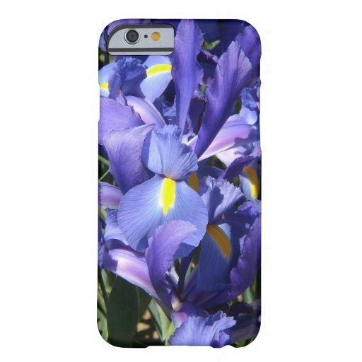 Iris néerlandais pourpre coque iPhone 6 barely there