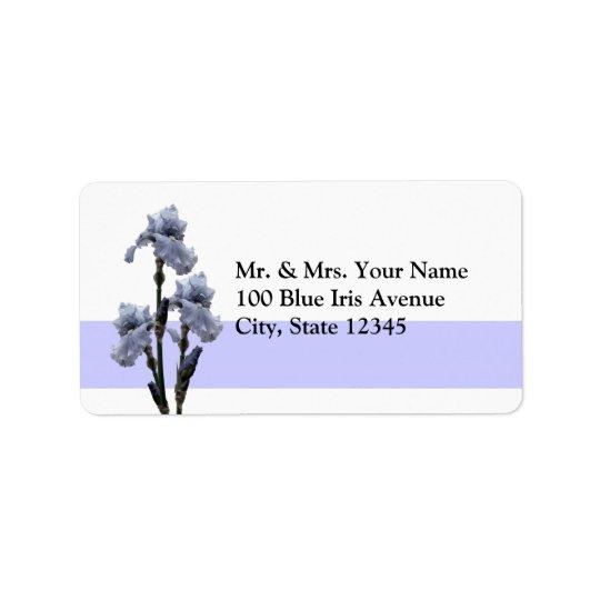 Iris of Blue Label