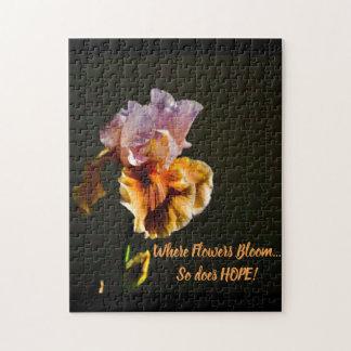 Iris of Hope Puzzle