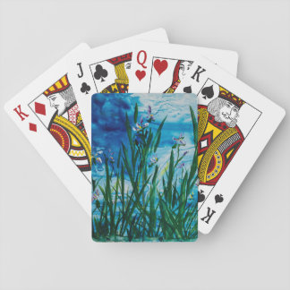 Iris on the Water Edge Playing Cards