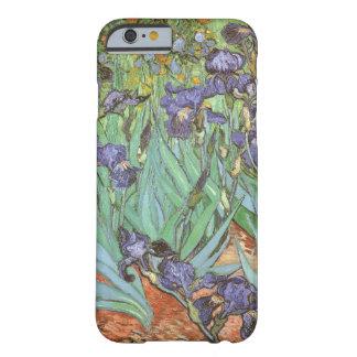 Iris par Vincent van Gogh, fleurs vintages de Coque iPhone 6 Barely There