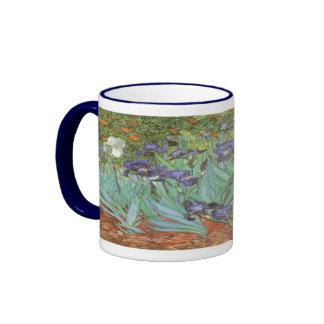 Iris par Vincent van Gogh, fleurs vintages de Mugs