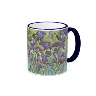 Iris par Vincent van Gogh, fleurs vintages de Tasse