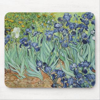 Iris par Vincent van Gogh Tapis De Souris