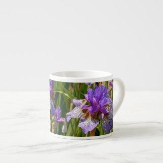 Iris pourpre mugs pour expresso