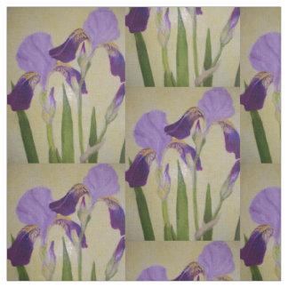 Iris pourpre par des bbillips tissu