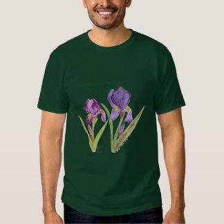 Iris pourpre par EelKat Tee-shirt