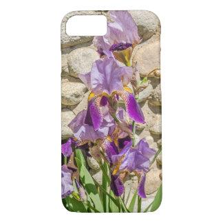 Iris pourpre pour ceux qui aiment des fleurs ou le coque iPhone 7