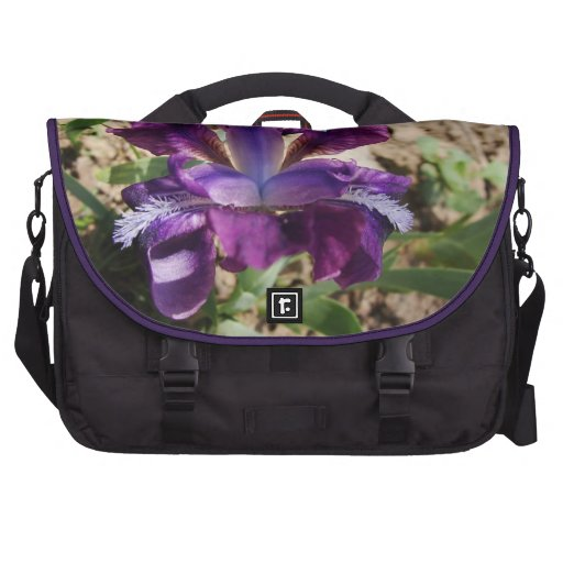 Iris pourpre sacoches ordinateur portable