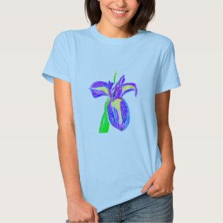 Iris pourpre t shirts